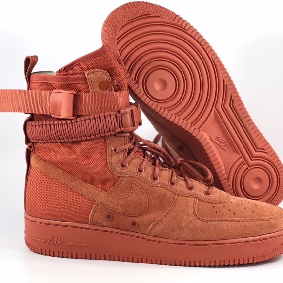 new product d0147 3d543 Nike SF AF1 Special Field Air Force 1 Dusty Peach